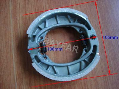 Rrear brake shoes for Scooter Moped ATV Motorcycle GY6 50 80 125 150 CG125 CG150