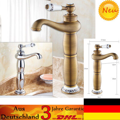 retro vintage einhebel wasserhahn waschbecken mischbatterie k che bad armatur de eur 30 28. Black Bedroom Furniture Sets. Home Design Ideas