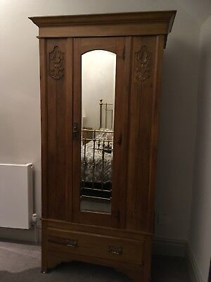 Antique Wardrobe  Mirrored