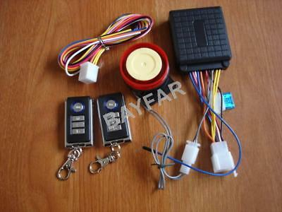 Motorcycle Scooter Remote Activated Alarm System / Burglar Alarm System