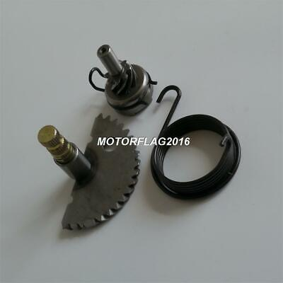20T Kick Start Shaft & 8T Idler Gear & Spring for Scooter 139QMB GY6 50 60 80cc