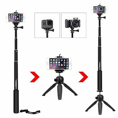 Selfie Stick Adjustable Telescoping Monopod Pole for Gopro Hero 6 5 4 Session 5