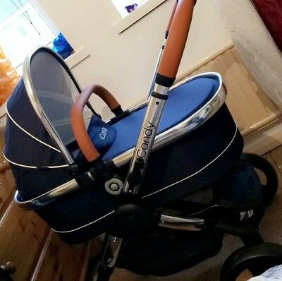 icandy peach carrycot only with rain cover