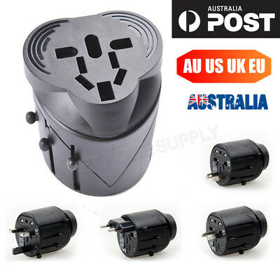 International Travel Adapter Charger Plug Universal USB AC Power AU UK US EU