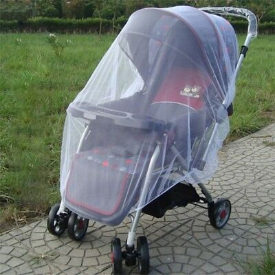 Baby Buggy Pram Mosquito Net Pushchair Stroller Fly Insect Protector Mesh Cover