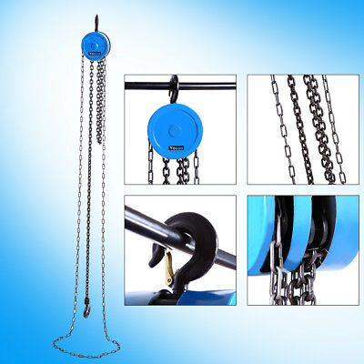 1 Ton Alloy Pulley Chain Block Chain Hoist Cable Hand Control Pulley Crane