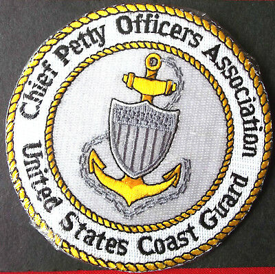 """United States Coast Guard patch """"Chief Petty Officers Association""""  4 in"""
