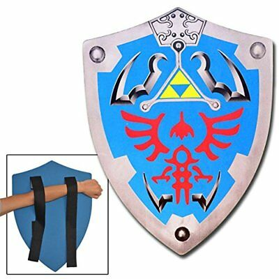 LARP Legend of Zelda Link Hylian Hyrule Triforce Foam Shield