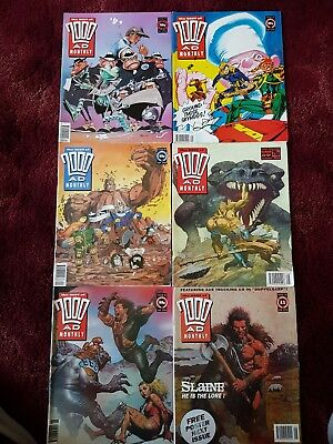Best of 2000ad monthly / 6 issue bundle.
