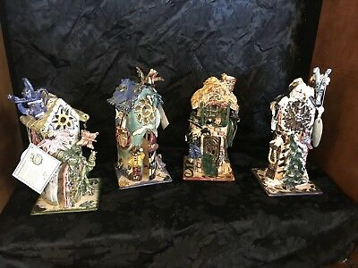 Very RARE Clayworks Four Seasons Collection