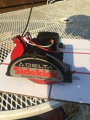Delta Sidekick No. 33-060 Frame & Trim Saw Parts Replacement Motor Only