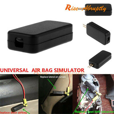 Universal Car Airbag Emulator Simulators Fault Diagnostic Scan Tool New Detector