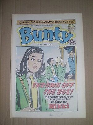 Bunty issue 1651 dated September 2 1989