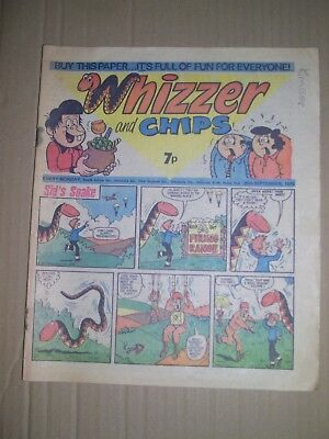 Whizzer and Chips issue dated September 25 1976