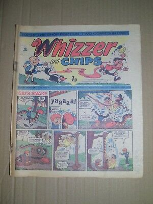 Whizzer and Chips issue dated October 9 1976