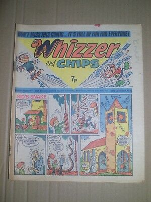 Whizzer and Chips issue dated October 23 1976