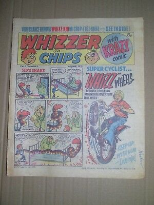 Whizzer and Chips issue dated June 3 1978