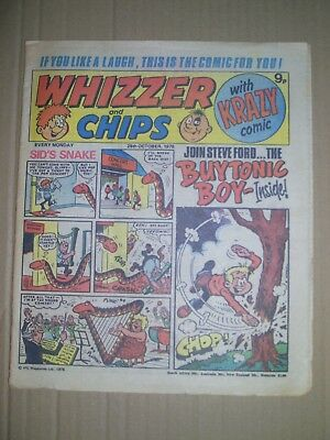 Whizzer and Chips issue dated October 28 1978