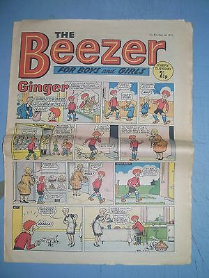 Beezer issue 816 dated September 4 1971