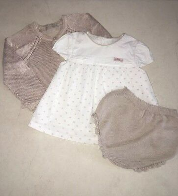 Beautiful Baby Girls Mayoral 3 Piece Outfit - Age 12 Month