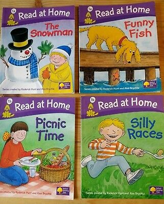 4 Biff And chips Books Level 1 - 'Read at Home' Oxford Reading Tree