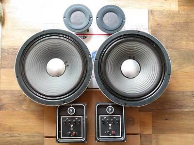 Vintage JBL set of D123-3 8 Ohms LE20 8 Ohms and LX-2 Crossover