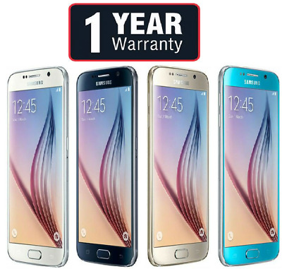 Samsung Galaxy S6 Unlocked SM-G920F 32GB Black Blue Gold White Grade A B C