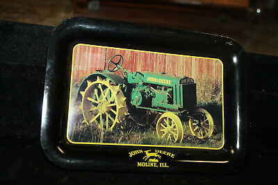 "2002 John Deere Metal Change Tray Collectable Model ""C"" 1926-28  6-3/4"" x 4-3/4"""