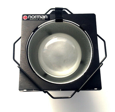 Norman 5DL-RP Reflector with RP1 Diffusion Dome with Filter Frame and Holder