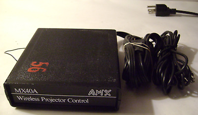 AMX MX40A Wireless Slide Projector Control Unit