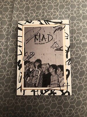 GOT7 Mad 4th Mini Album Vertical Signed Autographed By All Members Authentic