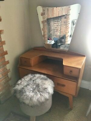 G Plan E Gomme Dressing Table 1950's Vintage. Great Midcentury Example