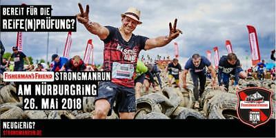 Fischerman's Friends StrongmanRun 2018 - Nürburgring 12 km, 1 Karte