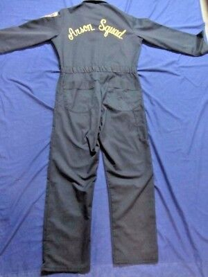 Hudson Co. Prosecutor's Office Arson Squad Crime Scene Forensic Jumpsuit Overall