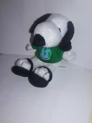 Snoopy Metlife plush Save Our Planet Charlie Brown Peanuts