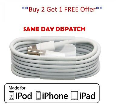 100% New Genuine Charging Cable Charger Lead for Apple iPhone 5/6/7/8 OFFER