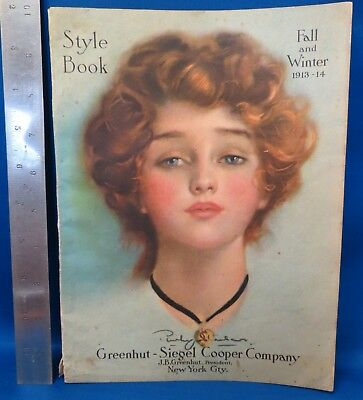 Fall & Winter 1913-14 Style Book, Greenhut-Siegel Cooper Company Catalog,