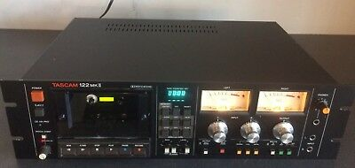 TASCAM 122 MKII Professional Cassette Recorder Fully Tested See Description
