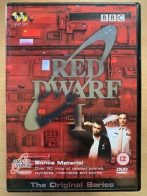 Craig Charles Chris Barrie RED DWARF SEASON 1 ~ BBC Cult Sci-Fi Series UK DVD