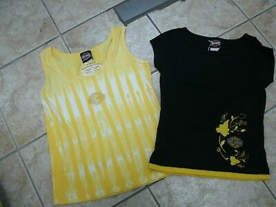 Lot Of 2 Womens Harley Davidson T Tee Shirt Top Size S/M