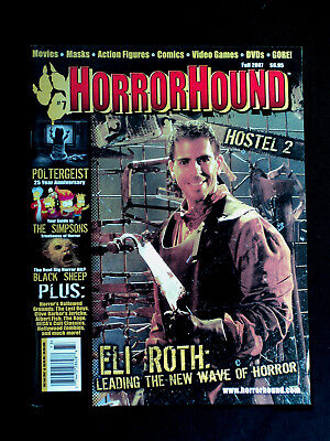 Horrorhound Magazine Issue #7 Eli Roth Hostel Ii Cover Poltergeist The Simpsons