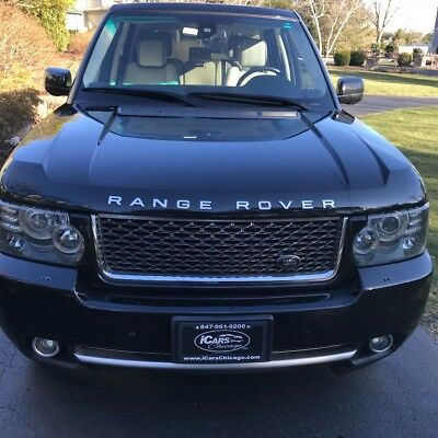 2011 Land Rover Range Rover  2011 Pristine Cond Supercharged Range Rover