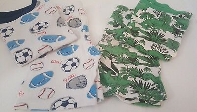 Two Pairs Boys Summer Pajamas from Carter's  Size 5t