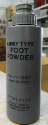 Army Type Foot Powder - 2 1/2 Oz  #misc997