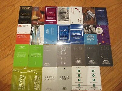 Lot 27 All Different Hotel Room Key Cards Montego Bay Hilton Westin Radisson Blu