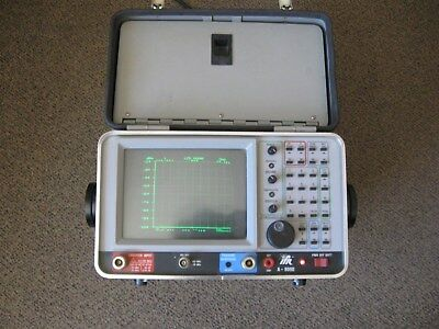 IFR A-8000 Spectrum Analyzer-Powers Up-AS IS Options 1,2,4,5