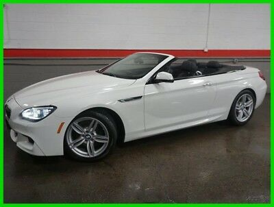 BMW 6-Series 640i xDrive AWD 2dr Convertible 2014 640i xDrive AWD 2dr Convertible Used Turbo 3L I6 24V Automatic AWD Premium