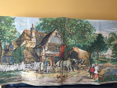 vintage tapestry picture