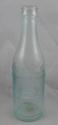 Coca Cola Bottle Straight Sided Rockford Ill