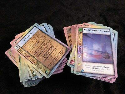 Mythos CCG : The Dreamlands 5x Unfolded Double Sided Investigator Cards Full Set